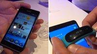 Huawei Ascend G6 / P7 mini & TalkBand B1: Mittelklasse-Smartphone und Fitness-Tracker im Hands-On-Video [MWC 2014]