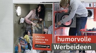Werbeartikel humorvoll in Szene gesetzt!