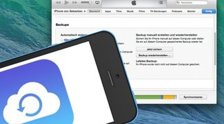 iCloud-Backup versus iTunes-Backup: Was wird gespeichert?