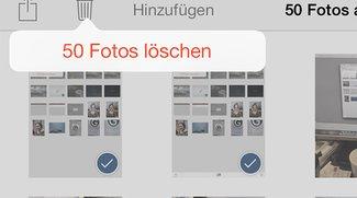 iPad-Fotos löschen: So entfernt ihr Bilder vom iPad