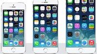 Apple bereitet angeblich zwei iPhone-Größen vor