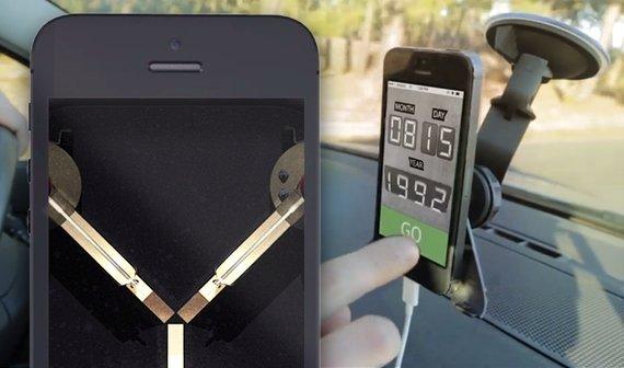 iPhone 6 mit Fluxkompensator im Video (Kaules Bettmümpfeli)