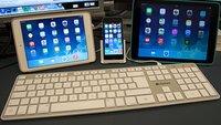 Mac-, iPhone- und iPad-Tastatur zugleich: Kanex Multi-Sync im Test