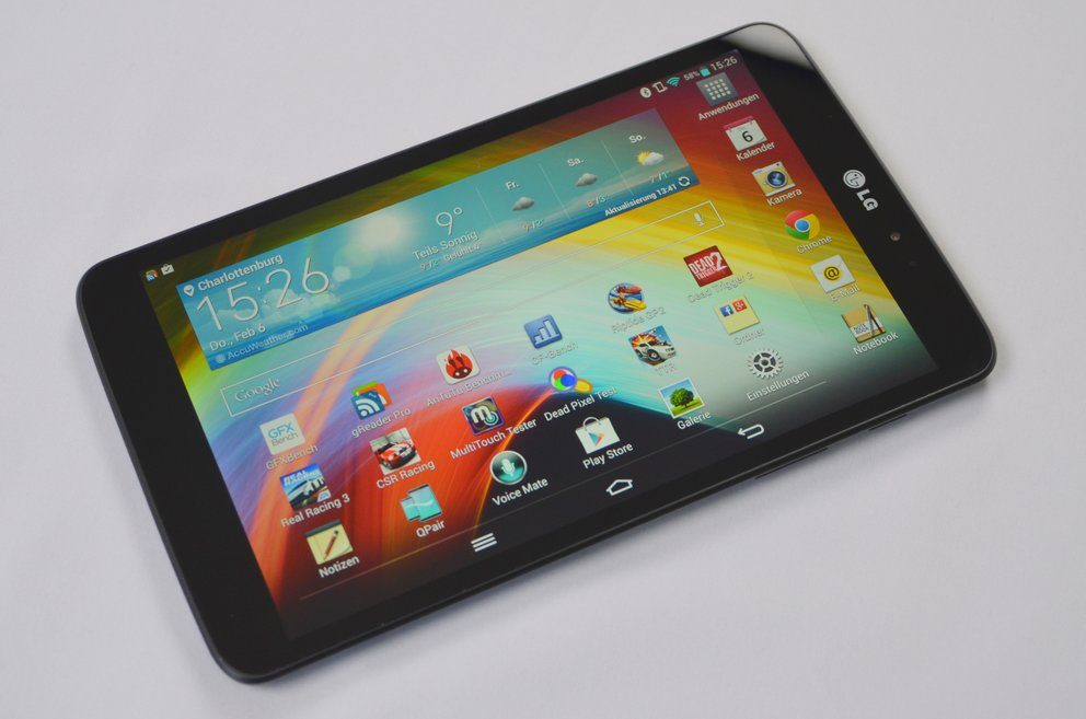 LG G Pad 8.3 im Test: Tablet-Flunder mit Featuritis