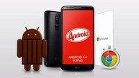 LG G2: Android 4.4 KitKat-Update wird in Deutschland verteilt, zuerst bei Vodafone