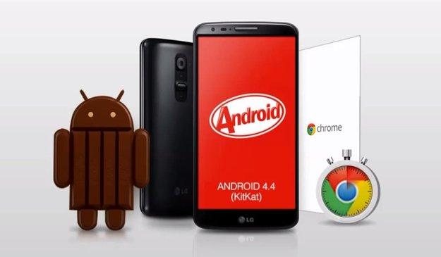 LG G2: Performance-Vergleich zwischen Android 4.2.2 Jelly Bean & 4.4.2 KitKat im Video