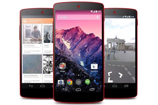 Nexus 5 &amp&#x3B; Nexus 7 (2013): Ab sofort bei Google Play Österreich verfügbar