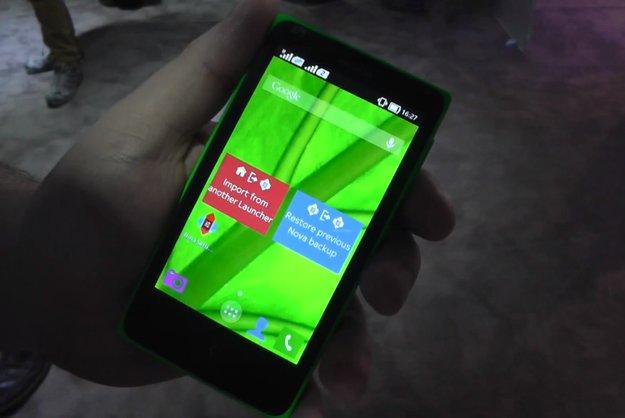 Nokia X: Alternative Launcher wie Nova oder Apex installierbar