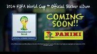 Panini WM 2014: Verkaufsstart vom Stickeralbum zur WM in Brasilien