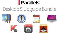 Parallels 9 Upgrade-Bundle mit 1Password, Fantastical, CleanMyMac 2, Kaspersky und mehr