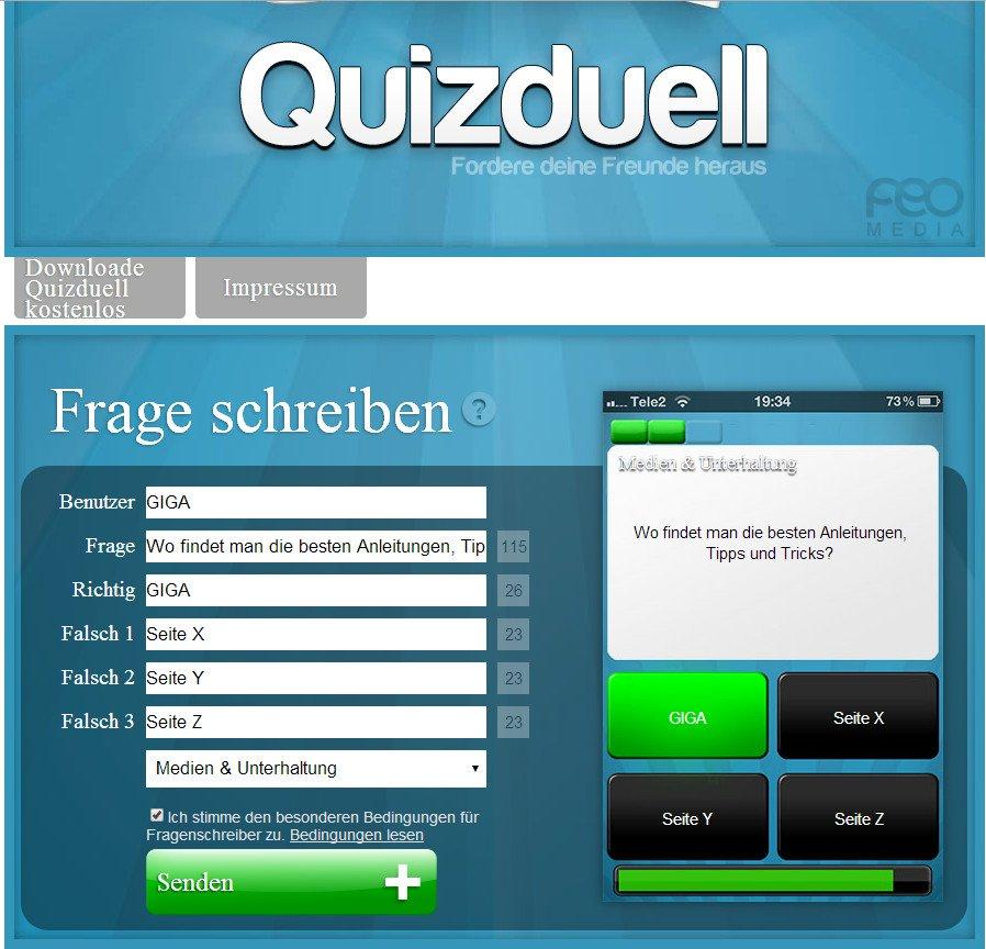 Fragen Quizduell