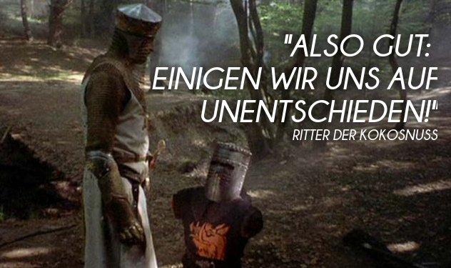 Ritter Der Kokosnuss Zitate