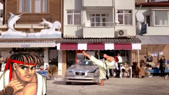 Street Fighter: Ryu macht Werbung in der Türkei