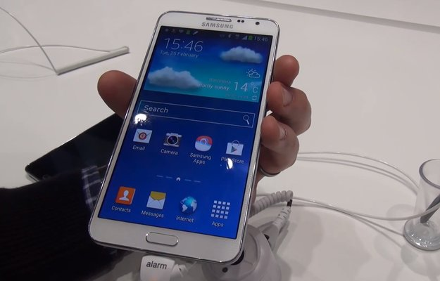 Samsung Galaxy Note 3 Neo: Mittelklasse-Phablet im Hands-On-Video [MWC 2014]