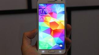 Samsung Galaxy S5: Fotos von Front und Rückseite, Vergleich mit Galaxy S4 &amp&#x3B; Note 3 [Update 2: Vines] [MWC 2014]