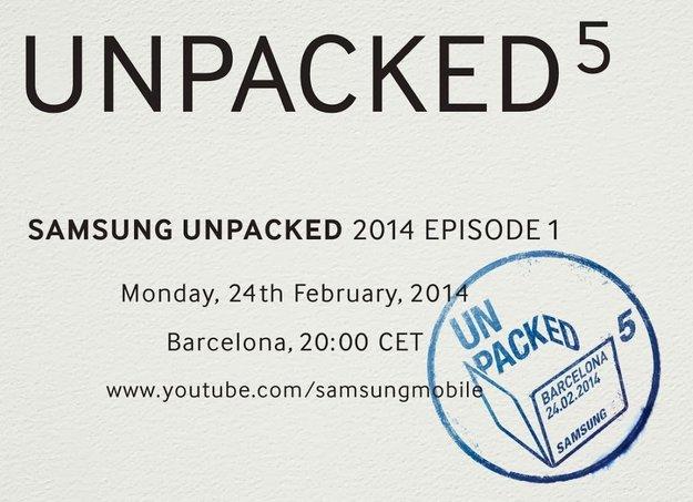 Samsung Galaxy S5: Vorstellung am 24. Februar auf dem MWC 2014