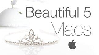 Topmodels: Die 5 schönsten Macs aller Zeiten