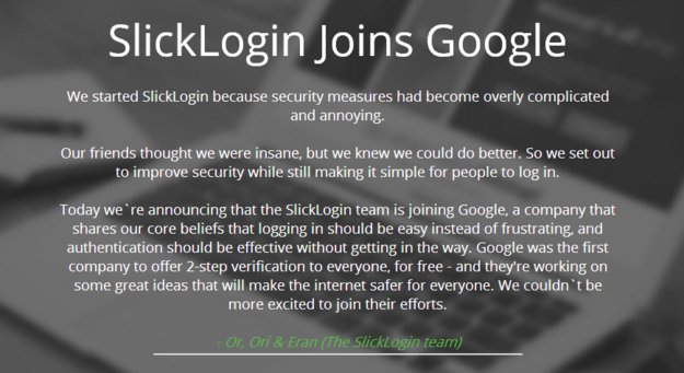Google kauft SlickLogin: Passwörter bald per Ton übertragbar?
