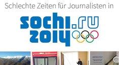 Olympia 2014: Schlechte Zeiten für Journalisten