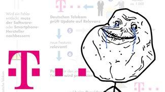Bild des Tages: Software-Updates bei Telekom Smartphones