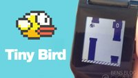 Tiny Bird: Flappy Bird auf der Pebble Smart Watch spielen