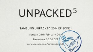 Samsung Unpacked 5 offiziell: Galaxy S5 Spezifikationen geleaked? (Update)