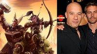 Seht zu, wie Vin Diesel mit Paul Walker World of Warcraft spielt