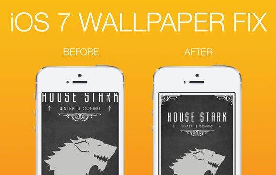Wallpaper Fix: Perfekte Hintergrundbilder für iOS 7 selbst gemacht [Promo-Codes]