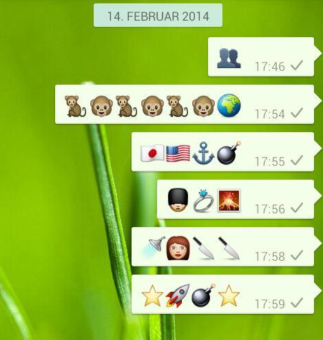 Das Whatsapp Spiel