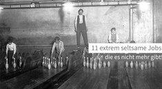 <i>11 extrem seltsame Jobs, die es nicht mehr gibt!</i>