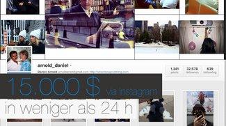 Instagram-Fotograf erhält 15.000 US-Dollar in weniger als 24 Stunden
