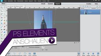 Photoshop Elements 12 - Perspektive korrigieren