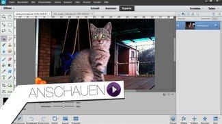 Photoshop Elements 12 - Rote Augen entfernen