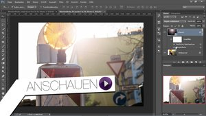 Photoshop Tutorial - Blendenflecken