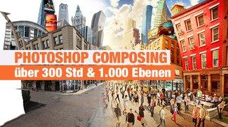 Photoshop Composing in über 300 Stunden und 1.000 Ebenen
