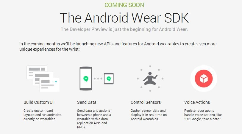 Android-Wear-SDK-Preview