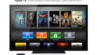 Apple TV bekommt womöglich Kamera zur Gestensteuerung