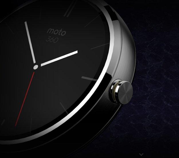Motorola Moto 360: Bilder zeigen Lademechanismus & Eigenschaften