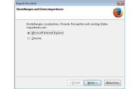 Firefox Lesezeichen importieren - Anleitung