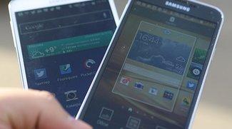 Samsung Galaxy S5: Display-Vergleich mit Galaxy Note 3 und Galaxy S4