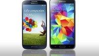 Samsung Galaxy S4  vs. Samsung Galaxy S5