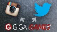 GIGA GAMES Backstage: Folgt uns auf Instagram und Twitter!