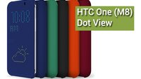 HTC One (M8) - Dot View Case Hands-On