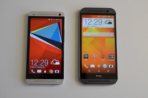 HTC One (M7 &amp&#x3B; M8): Android 5.0.1 Lollipop-Update für Google Play Editionen wird verteilt