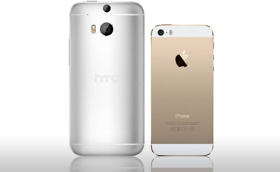 HTC One M8 vs. iPhone 5S 2