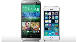 Das neue HTC One (M8) vs. iPhone 5S: Die technischen Daten im Vergleich