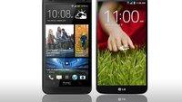 HTC One vs. LG G2: Die technischen Daten im Vergleich
