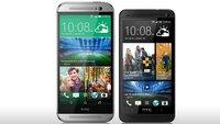 HTC One (M8) vs. HTC One (M7): Die technischen Daten im Vergleich