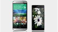 HTC One M8 und Sony Xperia Z1 compact im Vergleich (+ Datenvergleich)