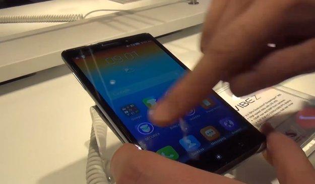 Lenovo Vibe Z: Edles Full-HD-Phablet mit Snapdragon 800 im Hands-On [MWC 2014]